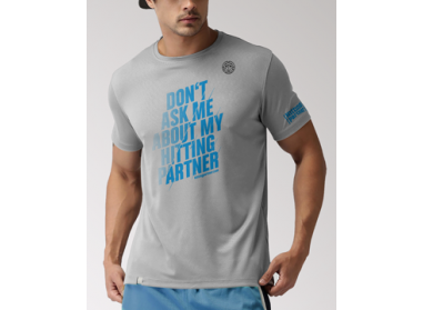 "T-Shirt ""Don't ask me about my Hittingpartner"" Männer"